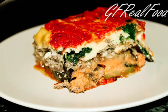 9 Layer Lasagna (Grain and Dairy Free)